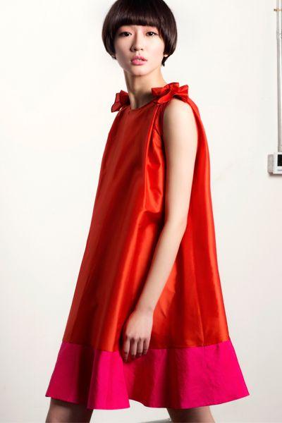 Vacances à Nice Collection: Dress, Silk Dress, Red Dress!     http://www.lastyleloft.com/online/shop-by-designer/vanessa-cheung/