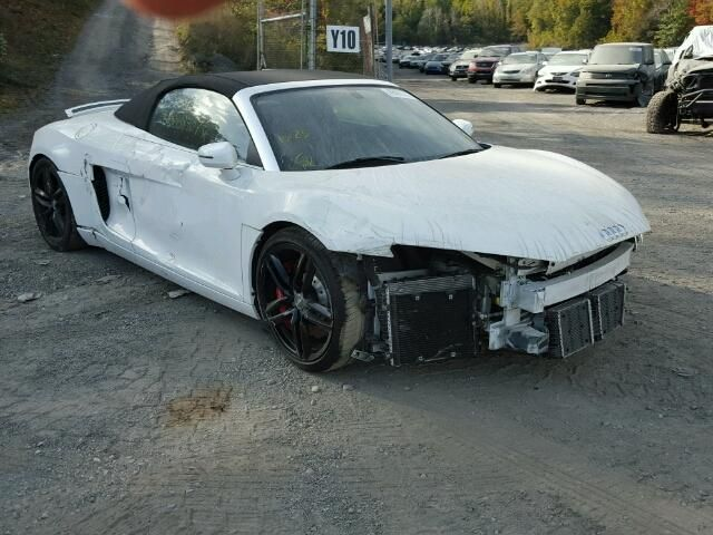 Salvage 2015 Audi R8  Convertible For Sale   Ny 907a Title