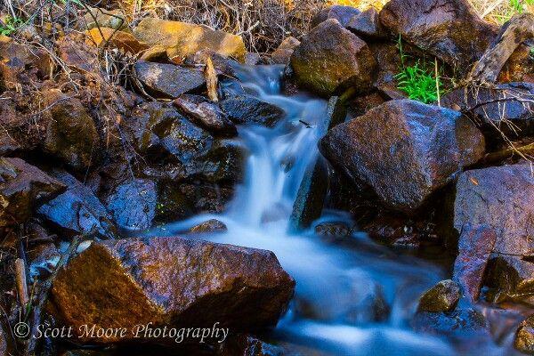 Lesmurdie 'mini falls'