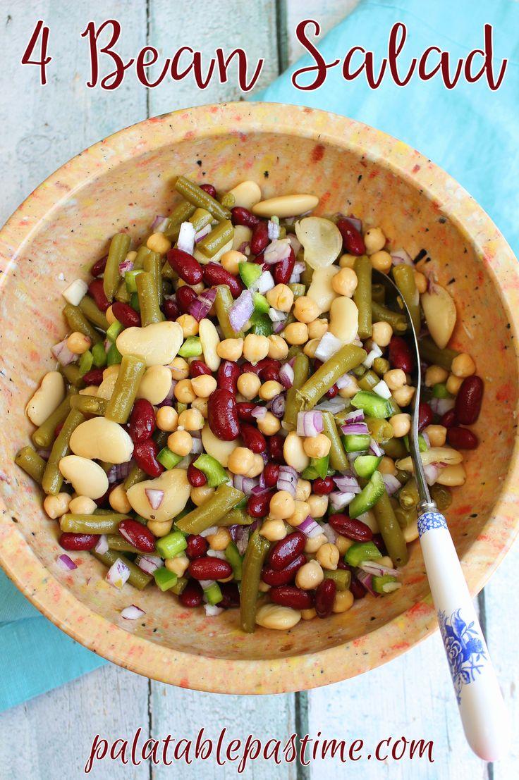 4 bean salad pinterest