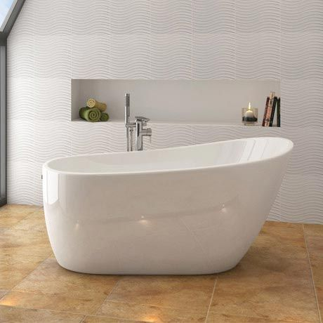 Best 25 Standing Bath Ideas On Pinterest  Spa Bathroom Design Fascinating Bath Bathroom Design Ideas