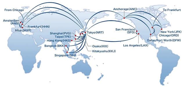 NCA - Nippon Cargo Airlines | Global Network