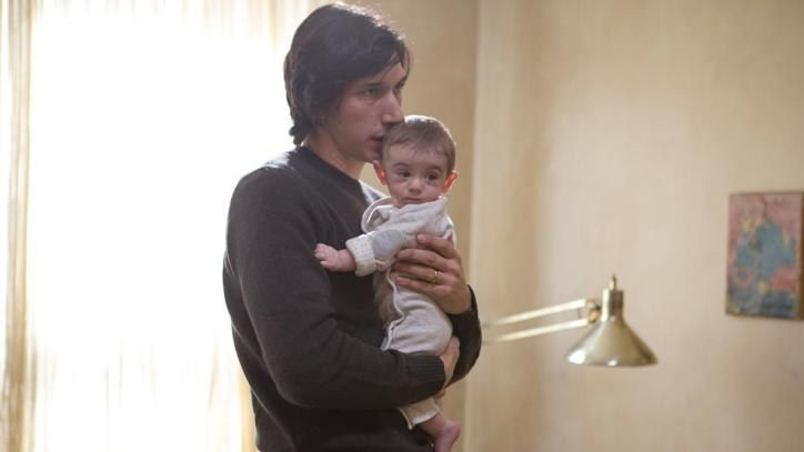 Adam Driver who plays a father having problems with the mother of his young baby http://www.independent.co.uk/news/people/adam-driver-interview-girls-star-on-the-fear-of-working-with-martin-scorsese-9787314.html