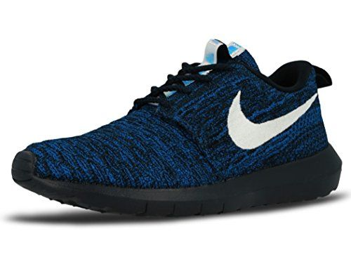 Nike Roshe NM flyknit Dark obsidian racer blue Womens size 10 ** You can get