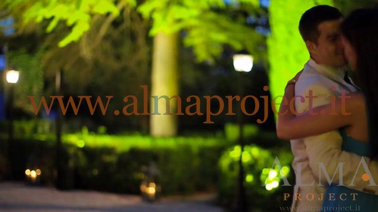 ALMA PROJECT @ Villa di Ulignano - trees lighting - street light - uplights hedges love - 094