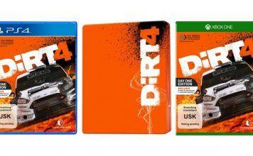 [Vorbestellen]  DiRT4  Day One Edition mit Steelbook (exkl. bei Amazon.de)  [Playstation 4 und Xbox One]