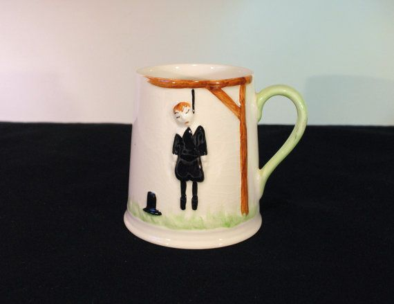 Vintage Carlton Ware Hanging Man Mug There Are by RetroEnvy21