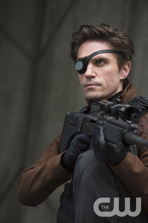 """Arrow -- """"Suicide Squad"""" -- Image AR216a_0030b -- Pictured: Michael Rowe as Floyd Lawton (""""Deadshot"""") -- Photo: Cate Cameron/The CW -- © 2014 The CW Network, LLC. All Rights Reserved."""