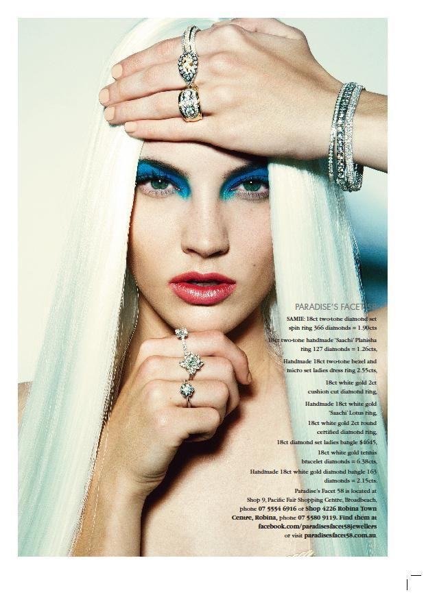 Feature in Gold Coast Magazine, Model: Samie Robinson