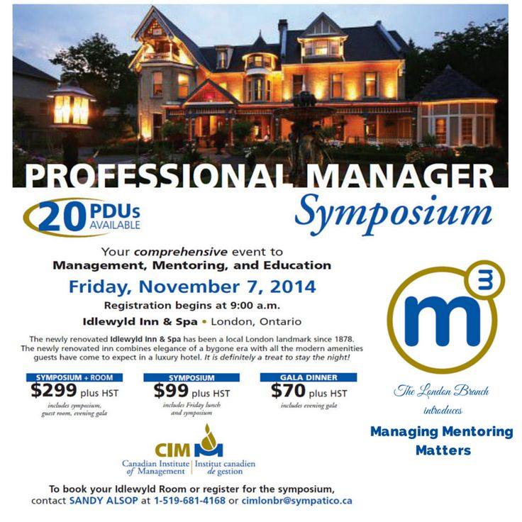 CIM London branch will be holding their Professional Manager Symposium on Nov 7, 2014. For more info, please visit http://bit.ly/1pWHou4