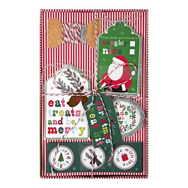 kit sacchetti a tema natalizio www.dolcementeweb.com