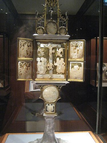 Tabernacle with Scenes from the Passion of Christ 1494