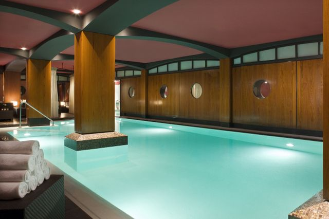 The award-winning U-Spa at Hotel Fouquet's Barriere
