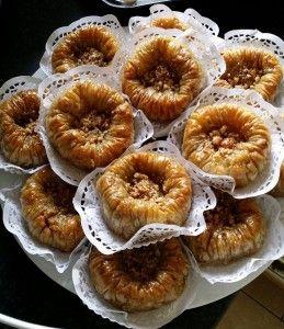 baklawa rolls aux amandes