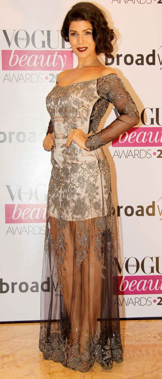 Nimrat Kaur at Vogue Beauty Awards 2014.