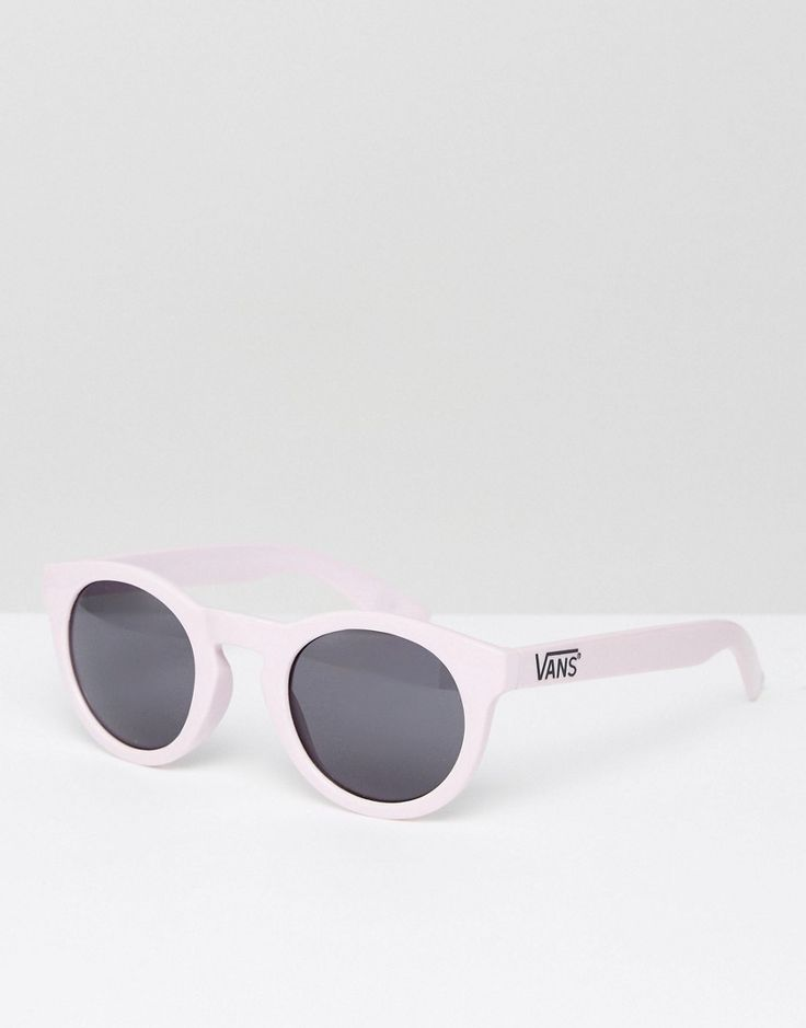 Get this Vans's sunglasses now! Click for more details. Worldwide shipping. Vans Lolligagger Sunglasses in Lilac - Purple: Sunglasses by Vans, Round frames, Moulded nose pads for added comfort, Dark tinted lenses, Branded arms with curved temple tips for a secure fit, Good UV protection. Famed for its iconic skate shoes, Vans was born in Sixties California and has since garnered a cult following that includes skateboarders, sports stars and style makers alike. Epitomising grungy West Coast…