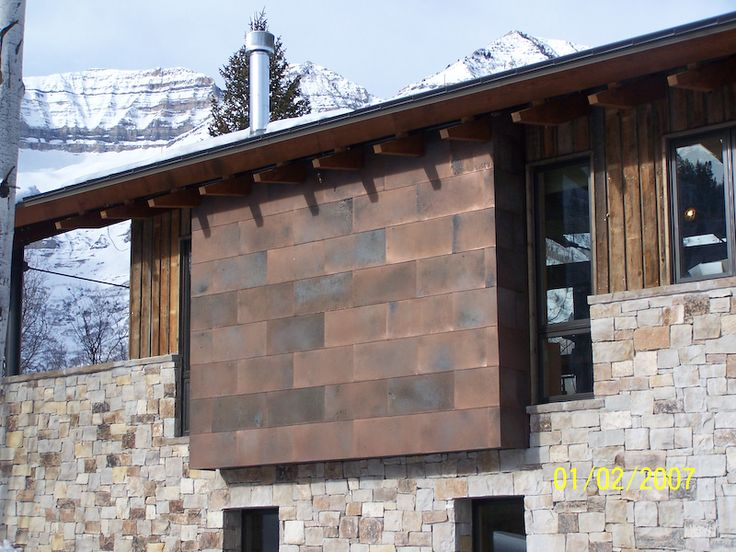 1000 images about metal siding ideas on pinterest for Modern house siding solutions