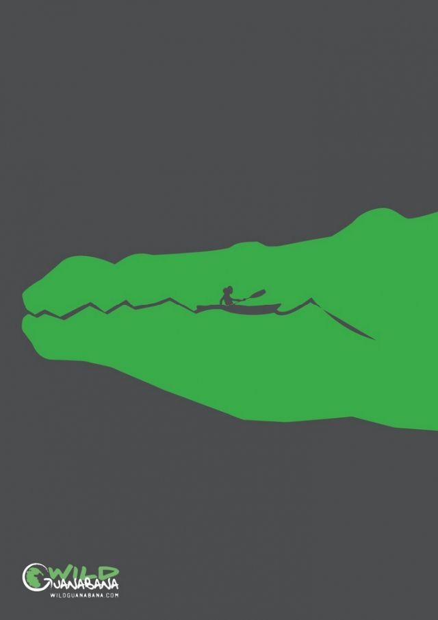 Adeevee - Wild Gunabana: Crocodile, Shark