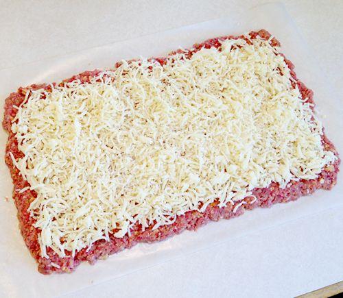 Gehaktbrood met kaas uit de crockpot