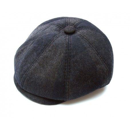 La casquette gavroche, forme bérèt, look vintage, une valeur sûre, pour un style mode. Casquette homme ou casquette femme, tweed grise et bleue