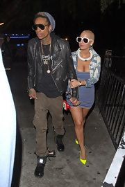 Love Amber Rose's style!!!