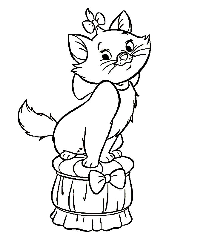 aristocats   31 Aristocats Coloring Pages Aristocats-coloring-1 – Free Coloring ...