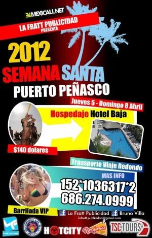 Semana Santa 2012 Puerto Peñasco