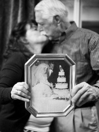 Estas fotos capturam a beleza singela dos amores antigos
