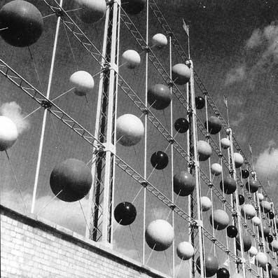 FESTIVAL OF BRITAIN 1951. EDWARD MILLER'S ABACUS SCREEN