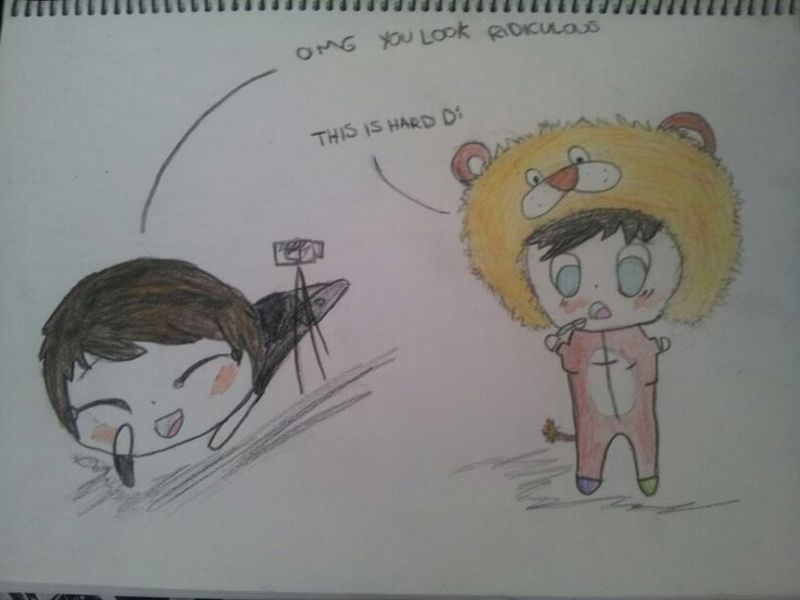 The crave challenge dan and Phil drawing