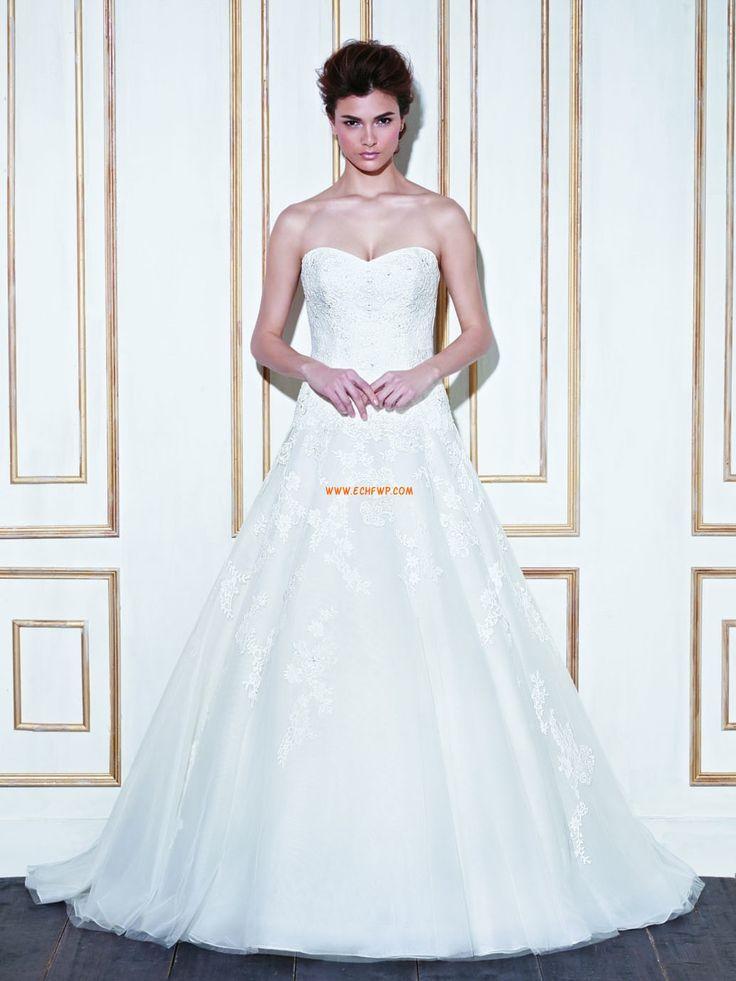 Kirche Glamourös & Dramatisch Sommer Brautkleider 2014