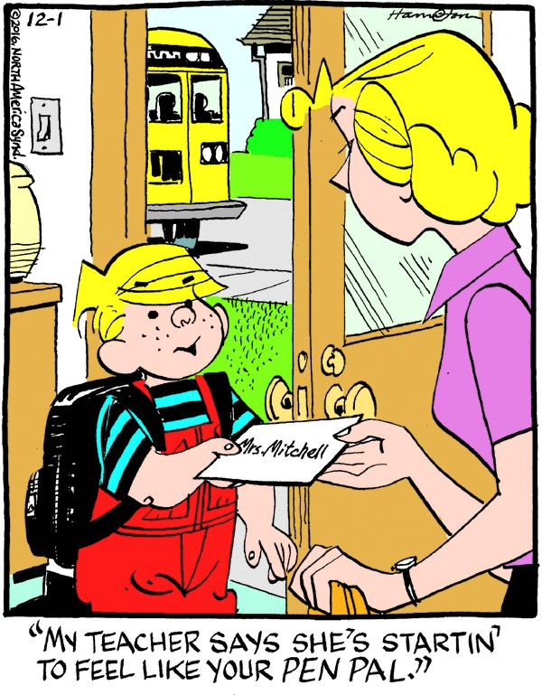 Dennis the Menace for 12/1/2016