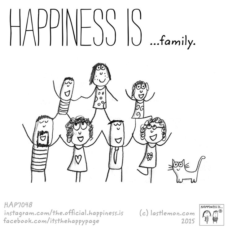 Happiness is....FAMILY