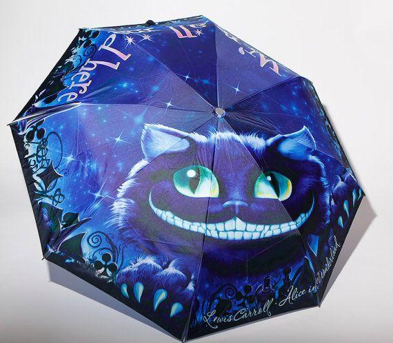 Alice in Wonderland boek paraplu van LiteratiClub op Etsy