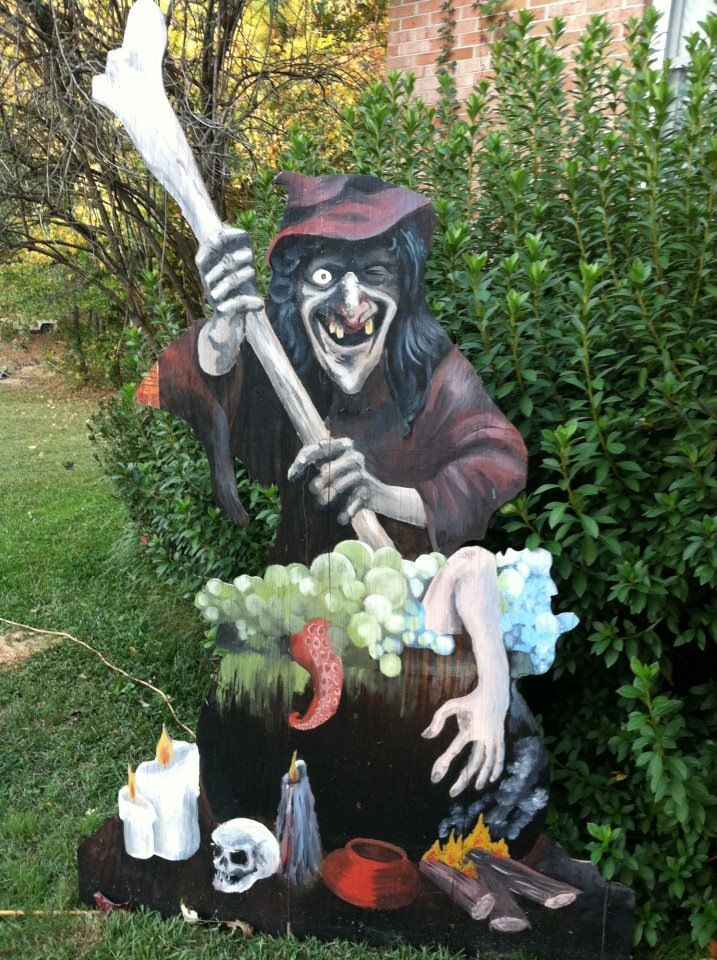 17 best images about halloween plywood cutouts on for Yard cutouts