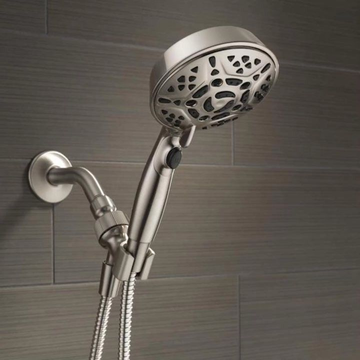 Your Shower Your Way The New Delta Faucet H2okinetic Handheld