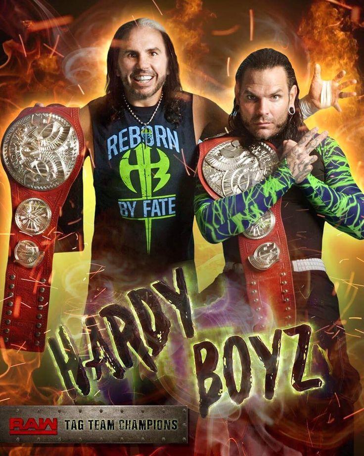 Matt & Jeff Hardy are former Raw Tag Team Champion