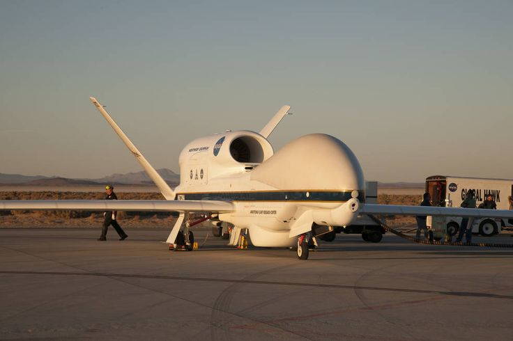 Oct. 6, 2016 NASA/NOAA Team Deploy Global Hawk to Track Hurricane Matthew NASA's Global Hawk being prepared for deployment to Florida to study Hurricane Matthew.