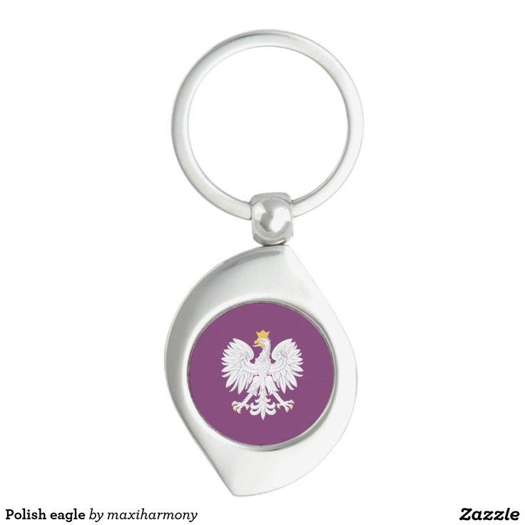 Polish eagle keychain