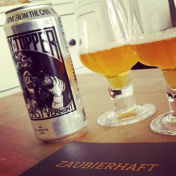 Heady Topper zum Tag des Bieres #craftbeer #headytopper #thealchemist #vermont #kiel #ipa #indiapaleale #beerlove #beerporn #instabeer #beerstagram #nowdrinking #cheers #beer #bier #craftbeerkiel #beergeek