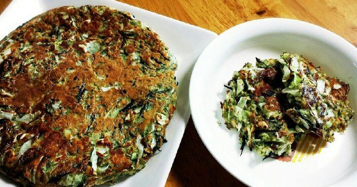 ツナ、キャベツ、ひじき、納豆などなど栄養満点の簡単ランチ☆たくさん作って大人も一緒にどーぞ♪冷凍して朝ごはんストックに◎
