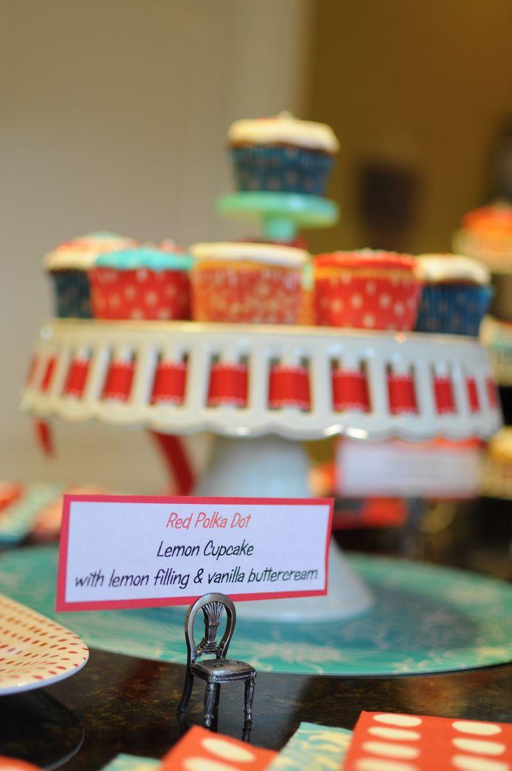 Covered Cupcake Display   University of Michigan Gymnastics Cake