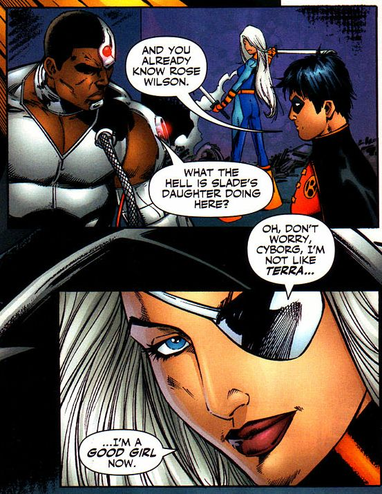 rose wilson, the good girl