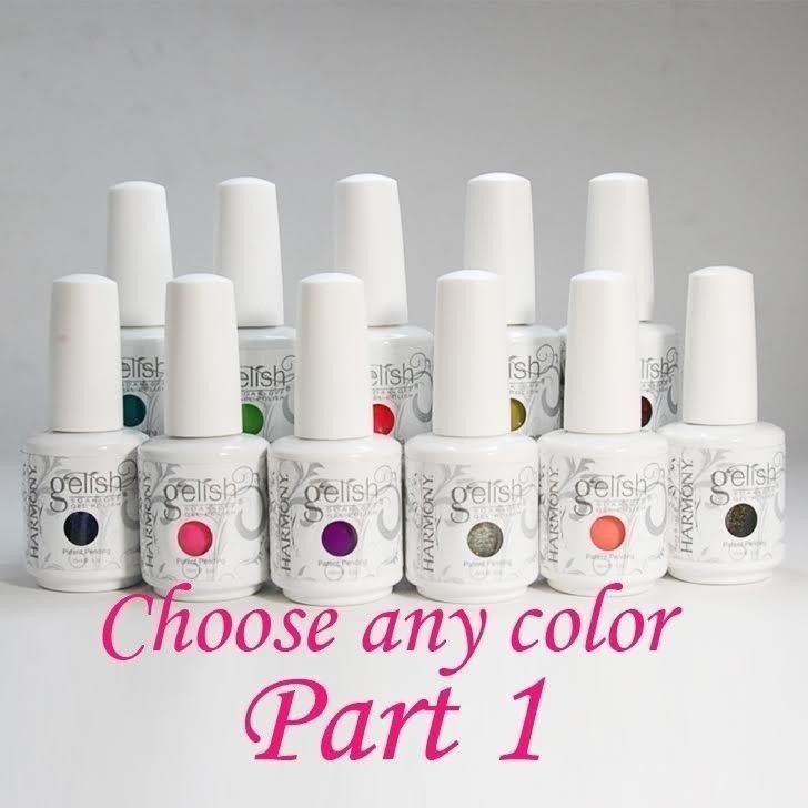 Nail Harmony GELISH Soak off UV / LED Gel Polish .5oz / 15ml / 0.5oz - Part 1 #NailHarmony