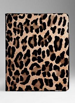 Burberry Spotted Animal Print I Pad Case