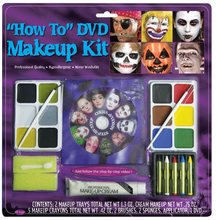 19 best Face Painting images on Pinterest | Makeup kit, Halloween ...