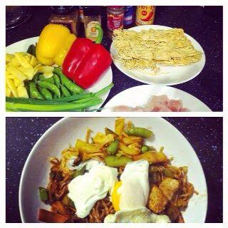 Chicken Chow Mein #tswdiaries #slimmingworld #healthy