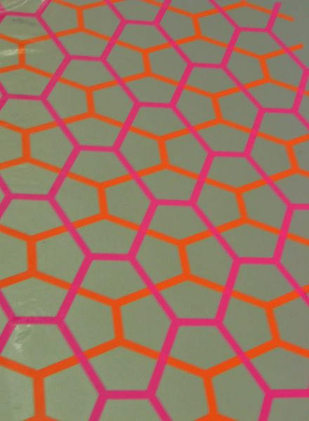 Holly Alderman design science, silk screen portfolio, pattern art