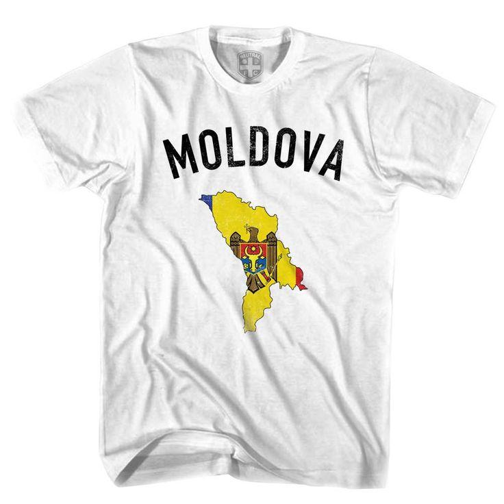 Moldova Flag & Country T-shirt