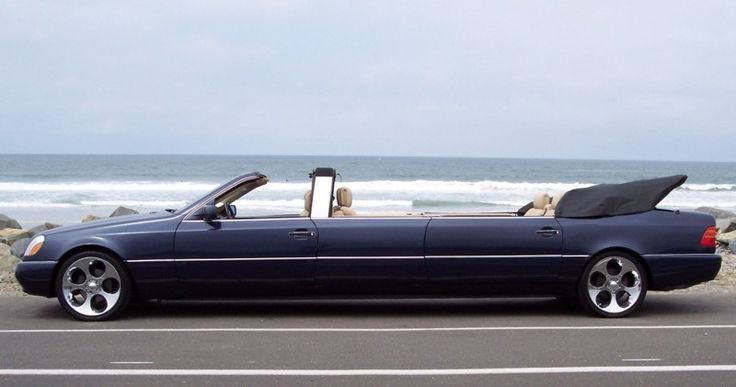 Limo mercedes convertible i just noticed this unique great for Mercedes benz limousine rental